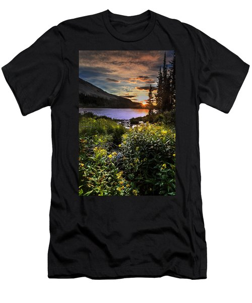Mitchell Sunrise Men's T-Shirt (Slim Fit) by Steven Reed