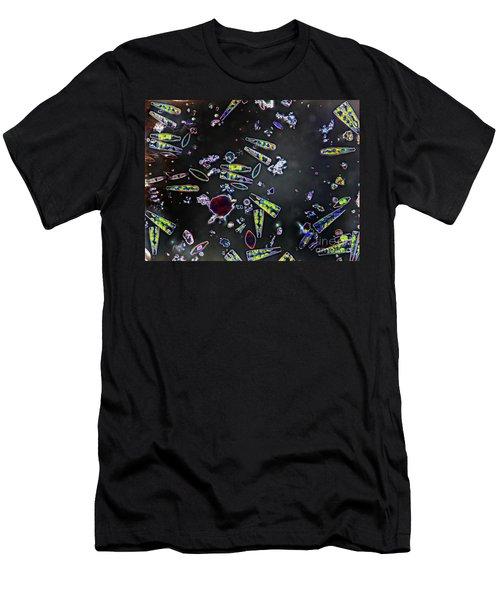 Mixed Diatoms Men's T-Shirt (Athletic Fit)