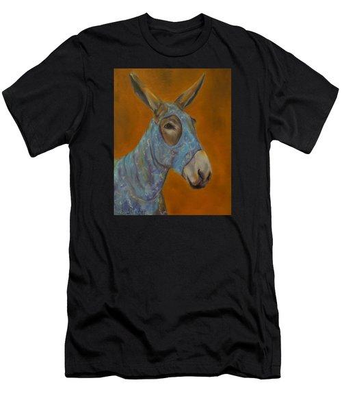 Mo Vision,donkey Men's T-Shirt (Athletic Fit)