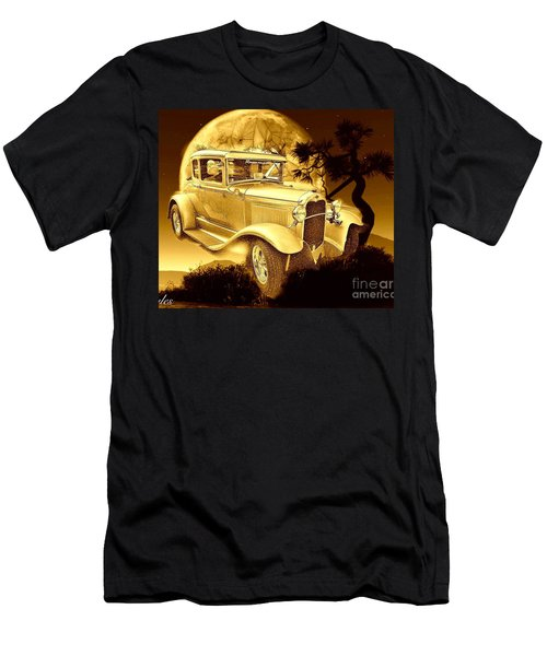 Model T Fantasy  Men's T-Shirt (Slim Fit) by Saundra Myles