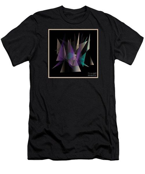 Men's T-Shirt (Slim Fit) featuring the digital art Modern Day by Iris Gelbart