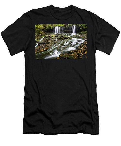 Mohawk Falls 1 Men's T-Shirt (Athletic Fit)