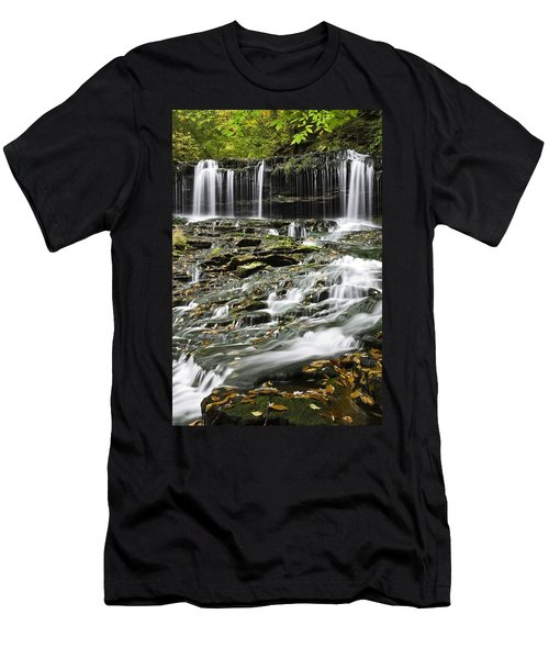 Mohawk Falls 2 Men's T-Shirt (Athletic Fit)