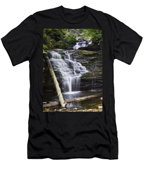 Mohican Falls Men's T-Shirt (Athletic Fit)