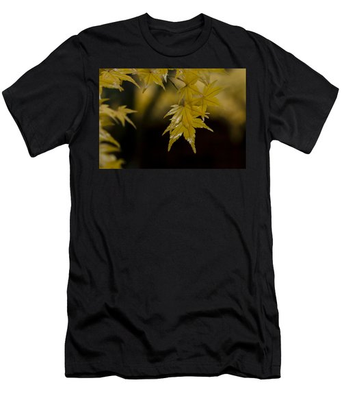 Moist Yellow Men's T-Shirt (Athletic Fit)