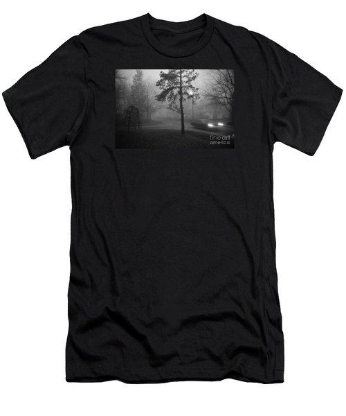 Moisture Men's T-Shirt (Slim Fit) by Steven Macanka