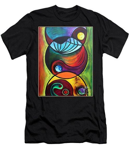 Molecules Of Emotion Men's T-Shirt (Athletic Fit)