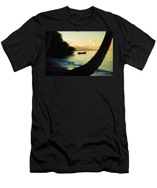 Molokai Beach Men's T-Shirt (Athletic Fit)