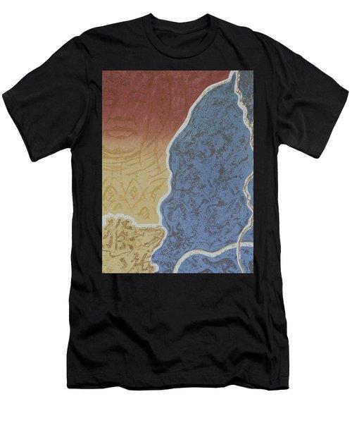 Moment Of Meditation Men's T-Shirt (Athletic Fit)