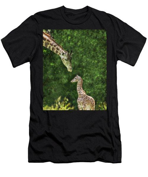 Momma Loves Me Men's T-Shirt (Athletic Fit)