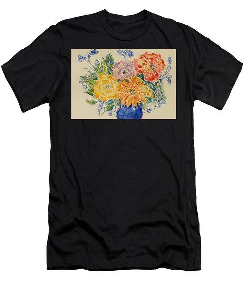 Bouquet Of Love Men's T-Shirt (Athletic Fit)