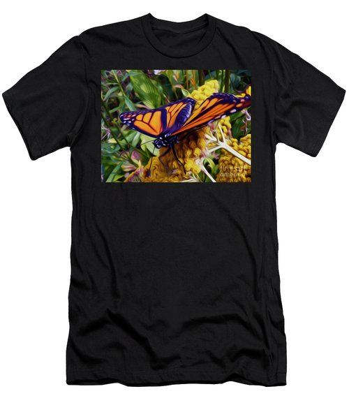Monarch On Yarrow Men's T-Shirt (Athletic Fit)