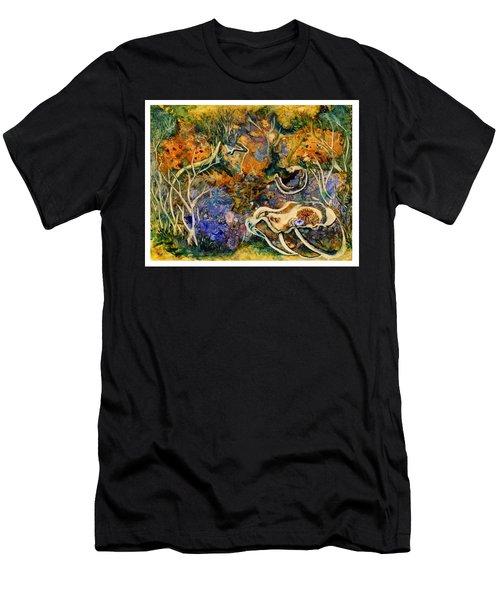 Monet Under Water Men's T-Shirt (Athletic Fit)