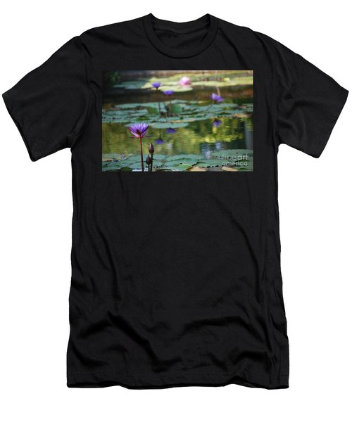 Monet's Waterlily Pond Number Two Men's T-Shirt (Athletic Fit)
