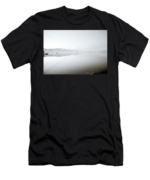 Mono Lake Serenity Men's T-Shirt (Slim Fit) by Shaun Higson