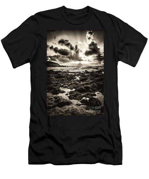 Monotone Explosion Men's T-Shirt (Athletic Fit)