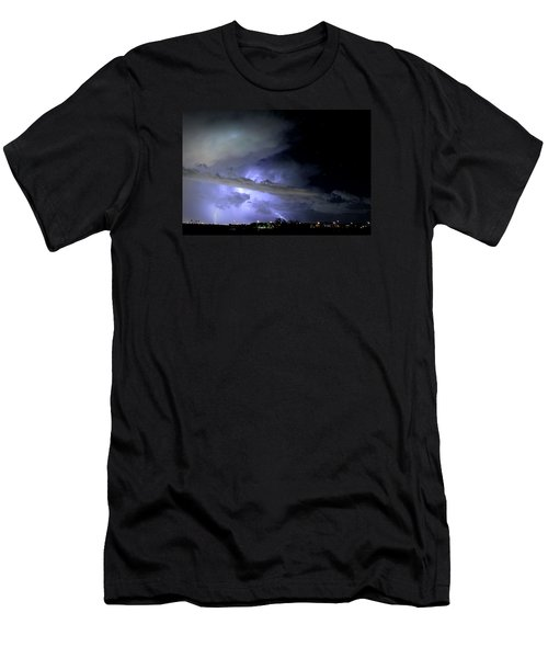 Monsoon Lightning Men's T-Shirt (Athletic Fit)