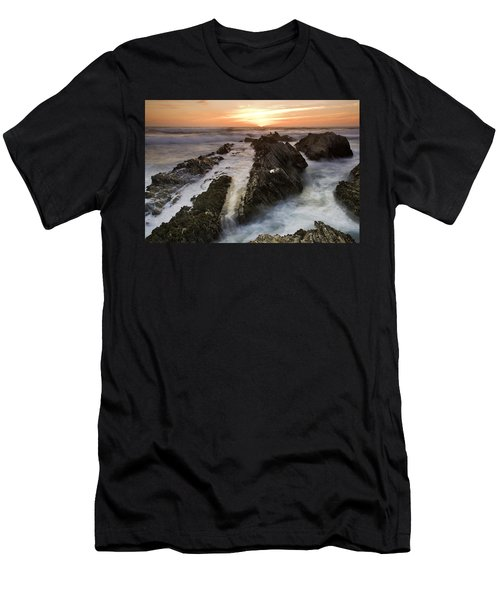 Montana De Oro Sunset 1 Men's T-Shirt (Athletic Fit)