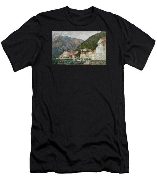 Montenegrin Venice Men's T-Shirt (Athletic Fit)