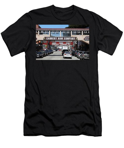 Monterey Cannery Row California 5d25034 Men's T-Shirt (Athletic Fit)