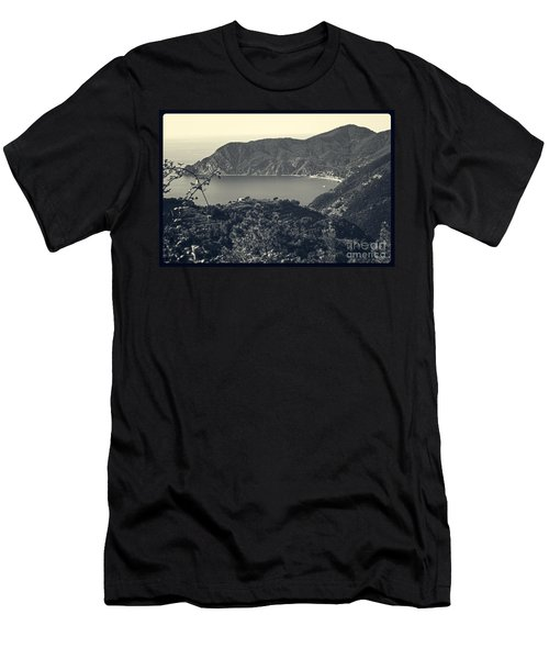 Monterosso Al Mare From Above Men's T-Shirt (Athletic Fit)