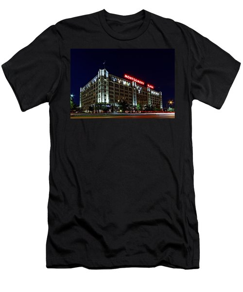 Montgomery Plaza Fort Worth Men's T-Shirt (Athletic Fit)
