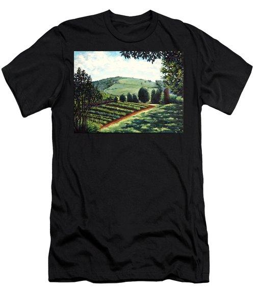 Monticello Vegetable Garden Men's T-Shirt (Athletic Fit)