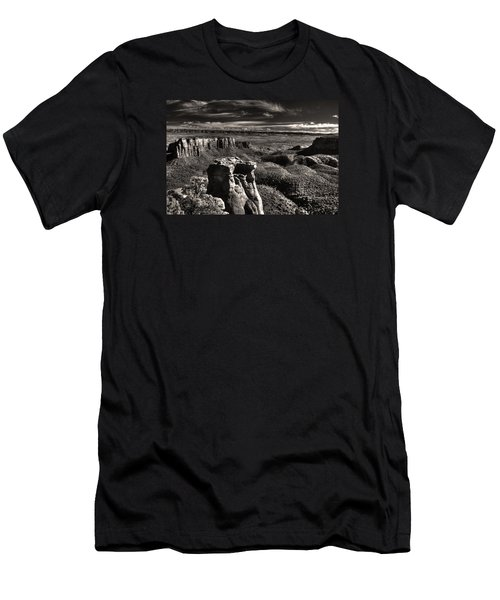 Monument Canyon Monolith Men's T-Shirt (Slim Fit) by William Fields