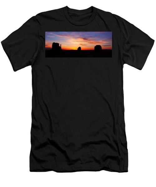 Monumental Sunrise Men's T-Shirt (Athletic Fit)