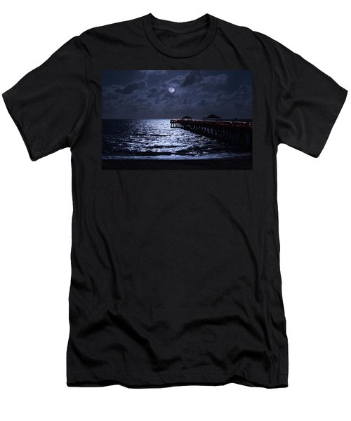 Moon And Sea Men's T-Shirt (Athletic Fit)
