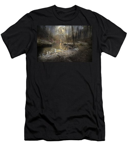 Moon Camp Men's T-Shirt (Athletic Fit)