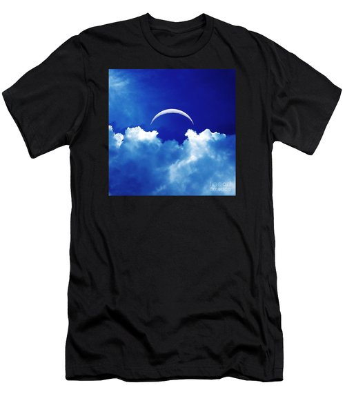 Moon Cloud Men's T-Shirt (Athletic Fit)