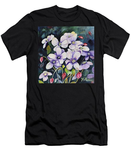 Moon Flowers Men's T-Shirt (Athletic Fit)