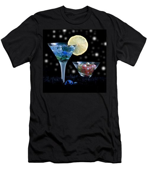 Moon Light Cocktail Lemon Flavour With Stars 1 Men's T-Shirt (Athletic Fit)
