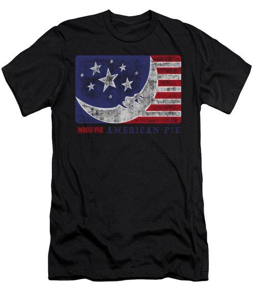 Moon Pie - American Pie Men's T-Shirt (Athletic Fit)