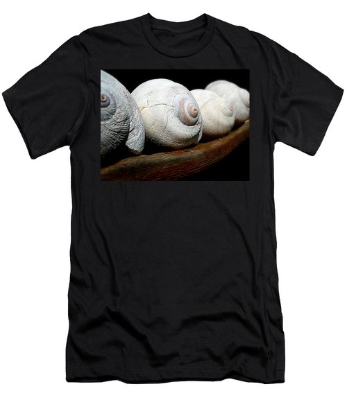 Men's T-Shirt (Slim Fit) featuring the photograph Moon Shells by Micki Findlay
