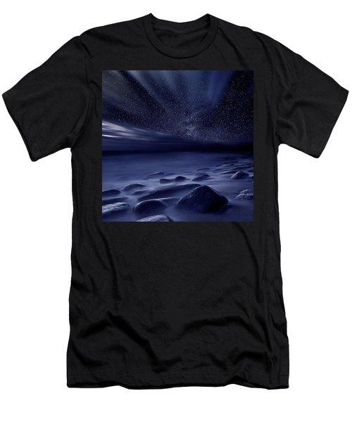 Moonlight Men's T-Shirt (Slim Fit) by Jorge Maia