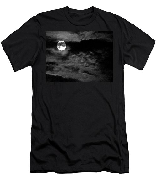 Moonlit Clouds Men's T-Shirt (Athletic Fit)