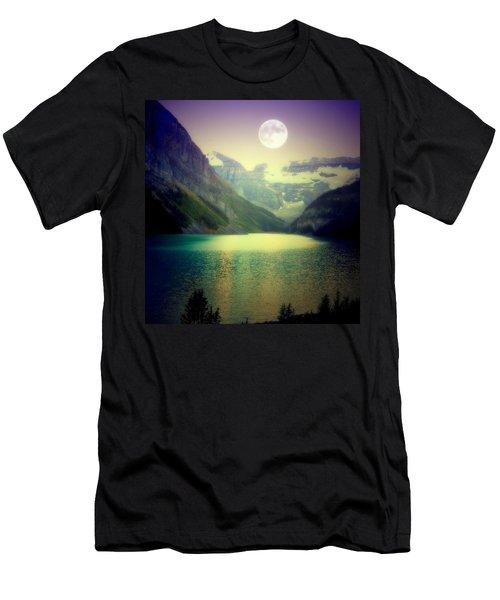Moonlit Encounter Men's T-Shirt (Athletic Fit)