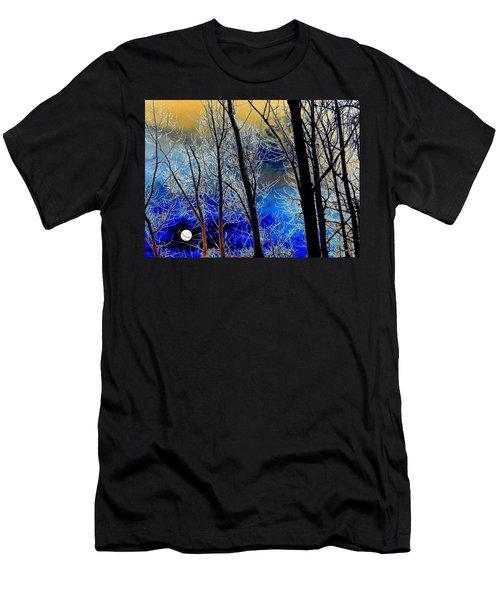 Moonlit Frosty Limbs Men's T-Shirt (Athletic Fit)