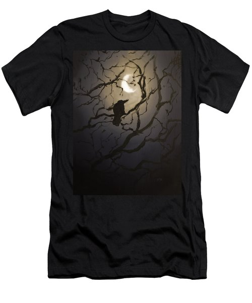 Moonlit Perch Men's T-Shirt (Athletic Fit)