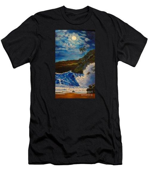 Moonlit Wave 11 Men's T-Shirt (Athletic Fit)