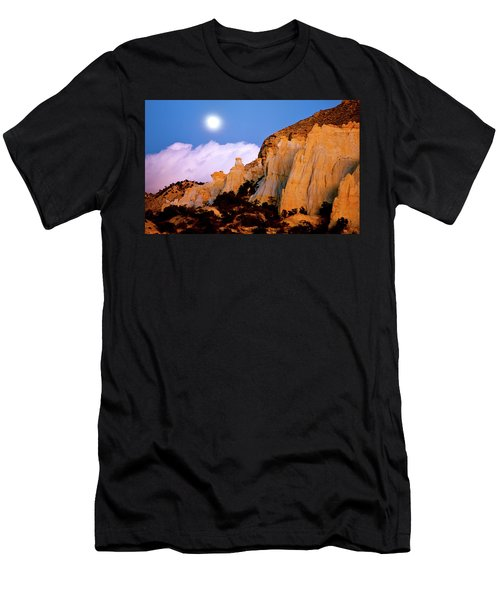 Moonrise Over The Kaiparowits Plateau Utah Men's T-Shirt (Athletic Fit)
