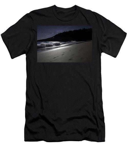 Moonshine Beach Men's T-Shirt (Athletic Fit)