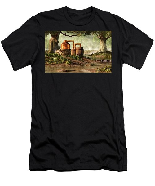 Moonshine Still 1 Men's T-Shirt (Athletic Fit)