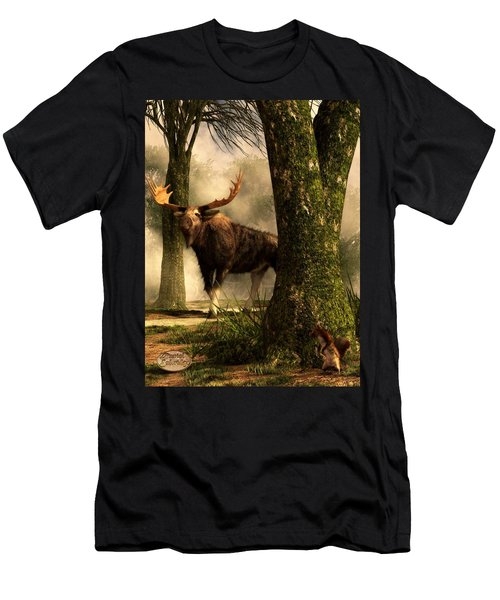 Moose And Squirrel Men's T-Shirt (Athletic Fit)