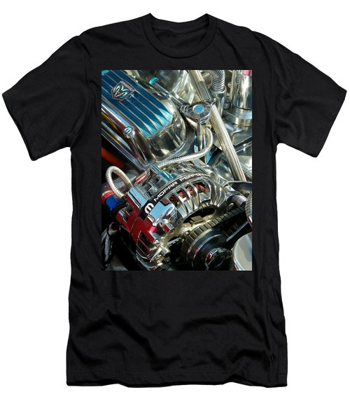 Mopar In Chrome Men's T-Shirt (Athletic Fit)