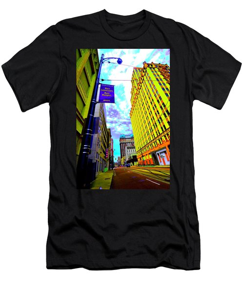 More Memphis On Monroe Men's T-Shirt (Athletic Fit)