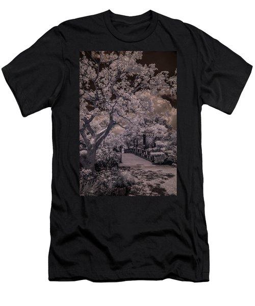 Morikami Gardens - Bridge Men's T-Shirt (Athletic Fit)