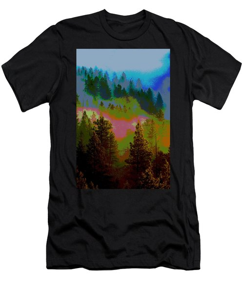 Morning Arrives In The Pacific Northwest Men's T-Shirt (Athletic Fit)